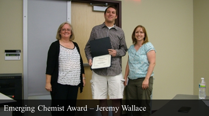 2012 Emerging Chemist Award - Jeremy Wallace
