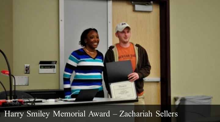 2012 Harry Smiley Memorial Award - Zachariah Sellers