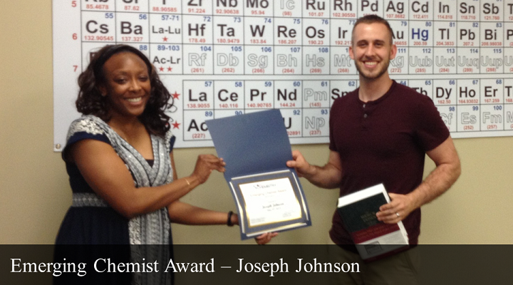 2013 Emerging Chemist -Joseph Johnson