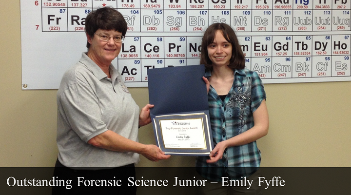 Outstanding Forensic Junior - Emily Fyffe