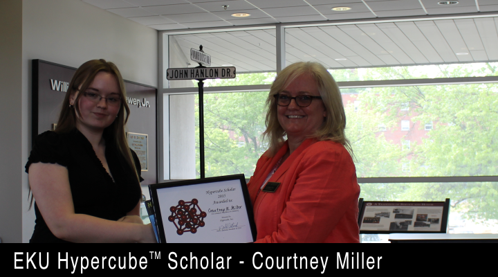 2015 EKU Hypercube Scholar - Courtney Miller