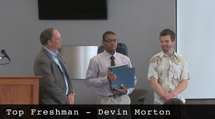 2014 Top Freshman - Devin Morton