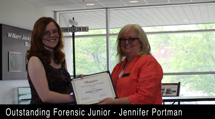 2015 Outstanding Forensic Junior - Jennifer Portman