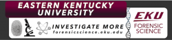 EKU Forensic Science Banner